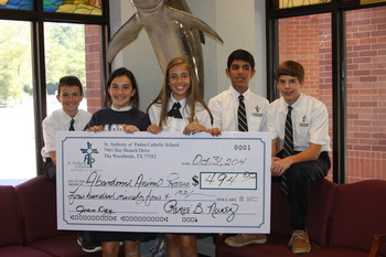 SAOPCS raises funds for charity