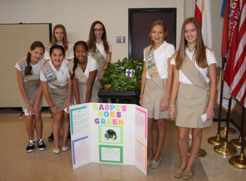 Girl Scouts honor SAOPCS