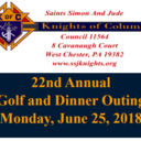 Knights of Columbus Golf Outing - June 25, 2018 @ Downingtown Country Club
