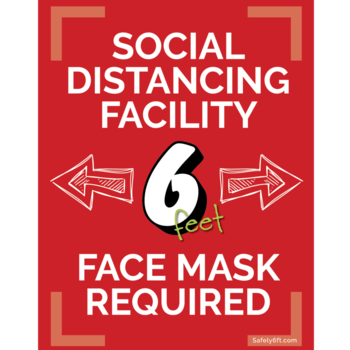 Thank you for wearing a mask and social distancing when you are at SSJ!