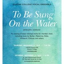Queens College (CUNY) Vocal Ensemble | Dr. James John, Conductor