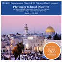 Parish Pigrimage to Israel