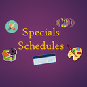 Schedule for Specials Classes