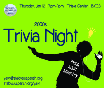 Young Adult Trivia Night: The 2000s