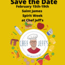 Save the Dates! St. James Regional Night with Chef Jeff's!