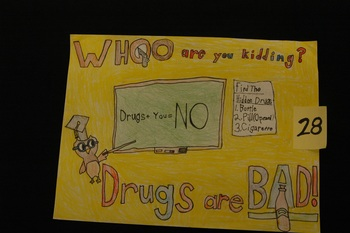5th Grade Student Wins Pennsylvania Drug-Free Calendar Contest