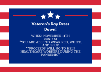 Veteran's Day Dress Down Day