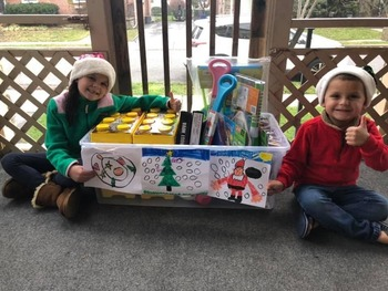 SJR Family Collects Toys for Needy