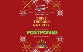 Drive-Thru Living Nativity Postponed Until 12/20/20