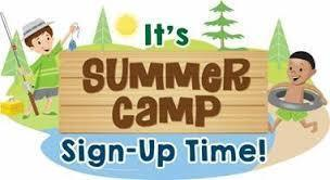 Summer Camp Sign-ups Now Open!