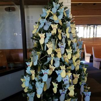 Christmas Giving Tree Angel Gifts Due