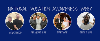 Vocations Awareness Week - Spiritually Adopt a Seminarian