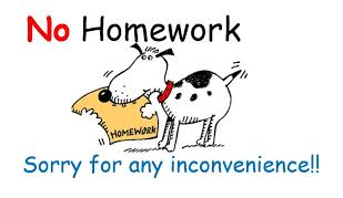 Image result for no homework