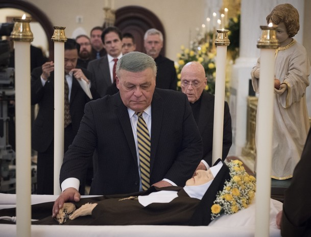 Jim says goodbye to Mother Angelica