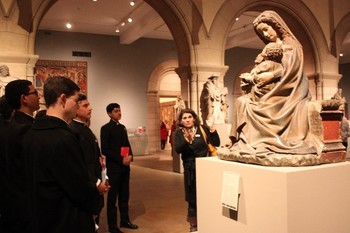 Humanities Community Visits the MET