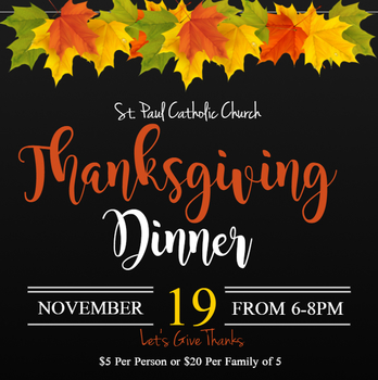 St. Paul Annual Turkey Dinner