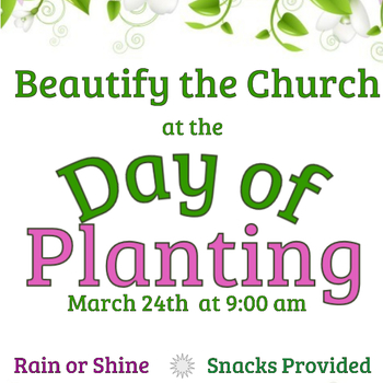 Day of Planting - Rain or Shine