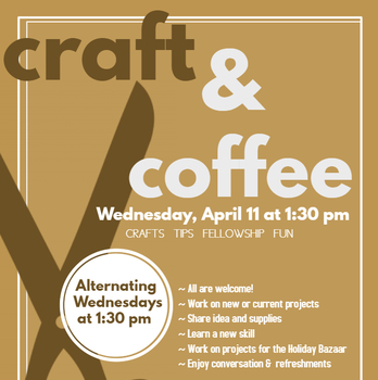 Craft & Coffee Kick-Off