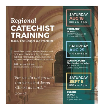Catechist Training