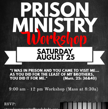 Prison Ministry Workshop