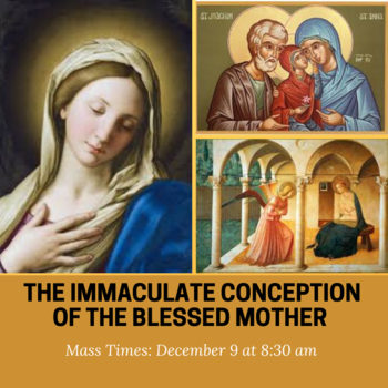 Immaculate Conception Daily Mass