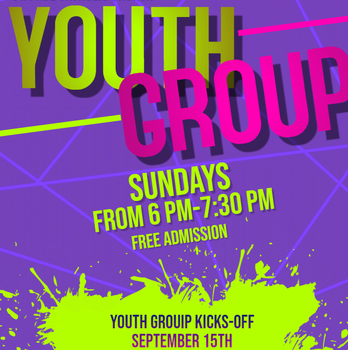 Youth Group Kick-off Night