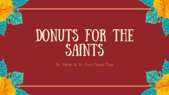 Donuts for the Saints