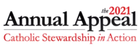 Graphic: The 2021 Annual Appeal - Catholic Stewardship