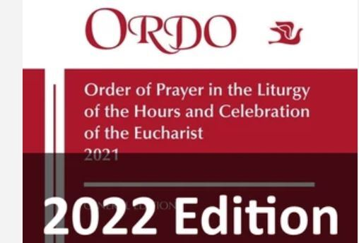 2022 Ordo <br />Available now to order