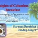 Knights of Columbus May Breakfast