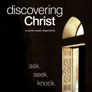 Discovering Christ Sign up form