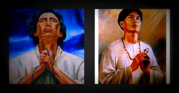Celebration of the two Filipino Saints: San Lorenzo Ruiz de Manila & San Pedro Calungsod
