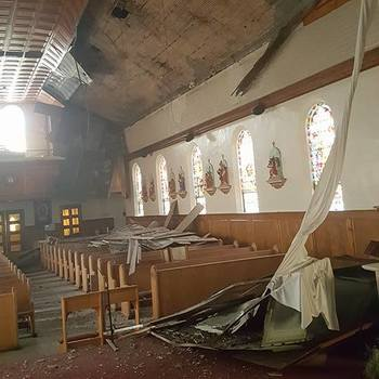 Church Ceiling Collapses