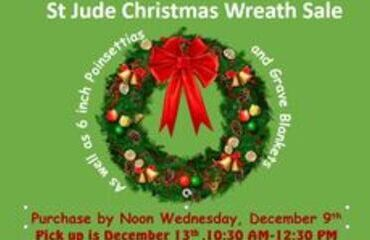 Annual Christmas Wreath Sale