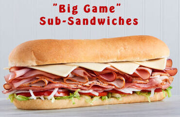 Super Bowl Sub-Sandwich Fund Raiser