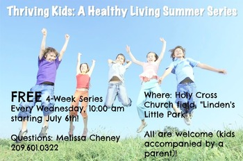 Thriving Kids: A Healthy Living Series