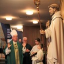 Bishop visits on Feb. 9