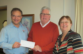 Catholic Financial Life donates to SVdP Society