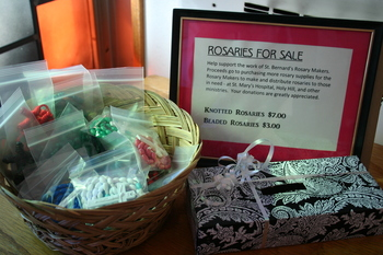 Rosaries now on sale