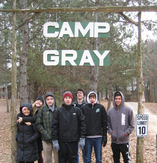 HS Adventure Day at Camp Gray
