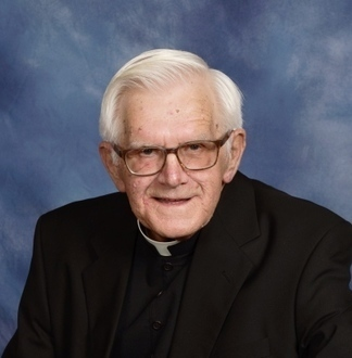 Burial services for Msgr. Dushack
