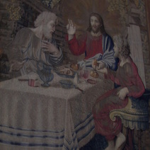 Vatican Museums Tapestry, Supper at Emmaus