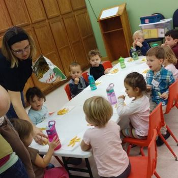Pre-school first day of class