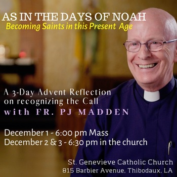 Advent Mission w/Fr. P.J. Madden