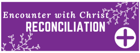 Encounter with Christ Reconciliation Button