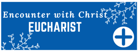 Encounter with Christ Eucharist Button