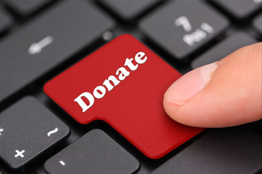 Save money and time for the parish by donating online