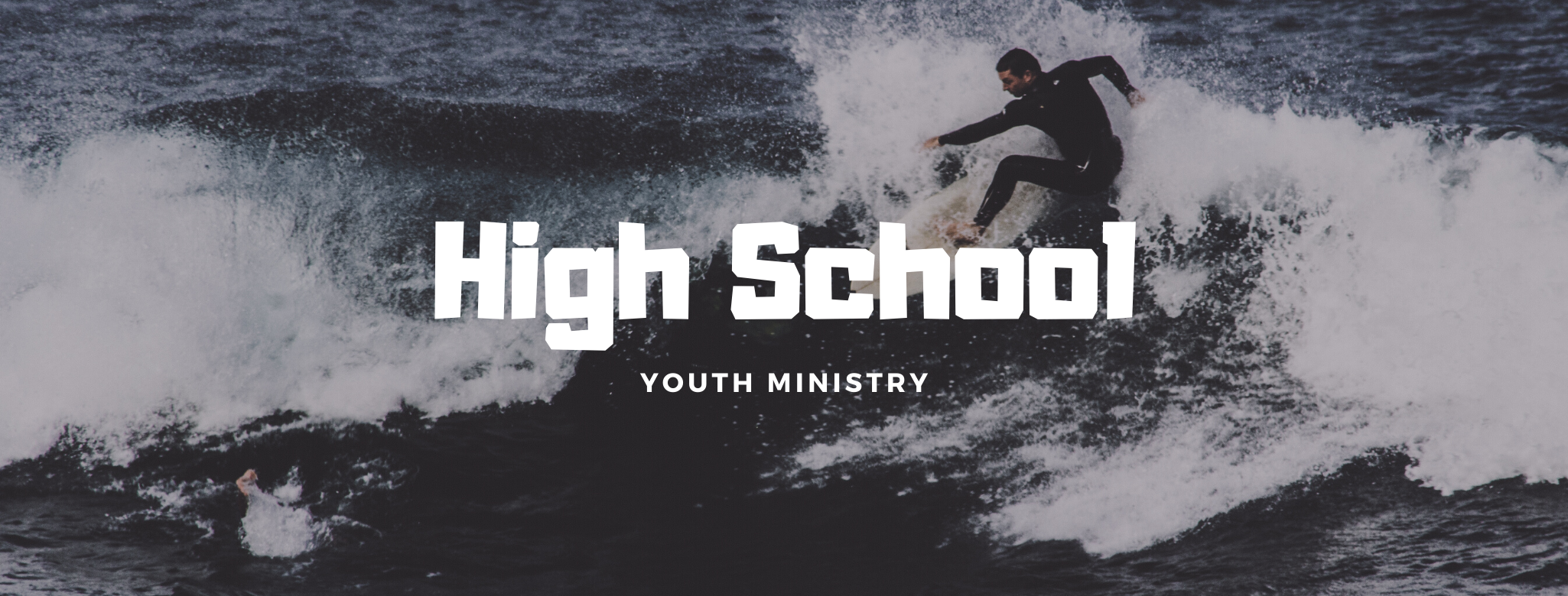 High school youth ministry spring button