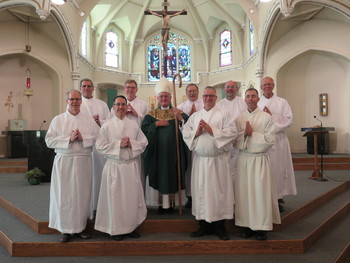 Nine Candidates Instituted as Acolytes