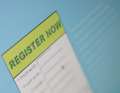 Registration and